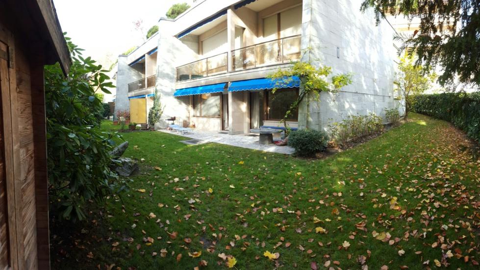 Bel appartement avec jardin privé à côté d'IMD, Ouchy